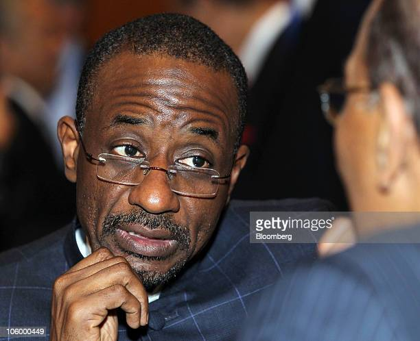 Sanusi Lamido Aminu Sanusi governor of the Central Bank of Nigeria attends the Global Islamic Finance Forum in Kuala Lumpur Malaysia on Monday Oct 25...