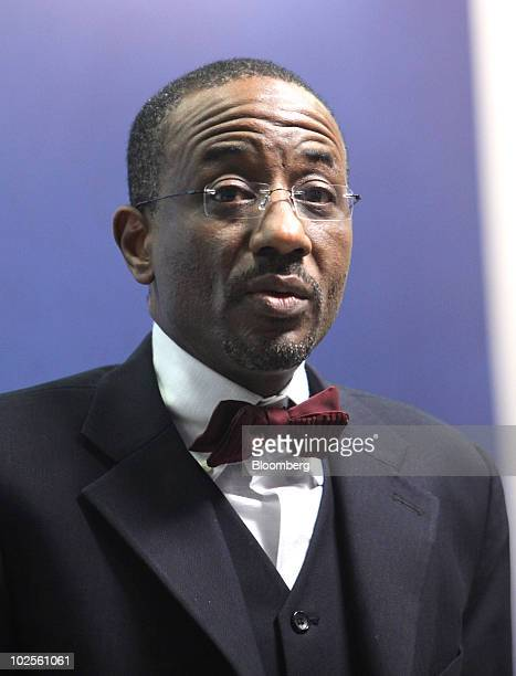 Sanusi Lamido Sanusi Governor of the Central Bank of Nigeria speaks at the Investing in Emerging and Developing Markets conference at Chatham House...