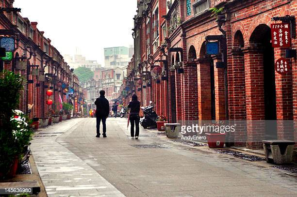 sanxia old street - taipei stock pictures, royalty-free photos & images