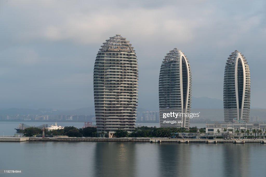 Sanya Phoenix Island President Resort Apartment, Sanya,Hainan,China : Stock Photo