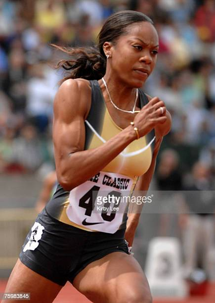 Sanya Richards won the women's 400 meters in 5074 in her season debut in the Prefontaine Classic at the University of Oregon's Hayward Field in...