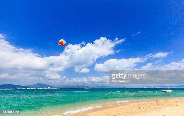 sanya seaside scenery - sanya stock pictures, royalty-free photos & images