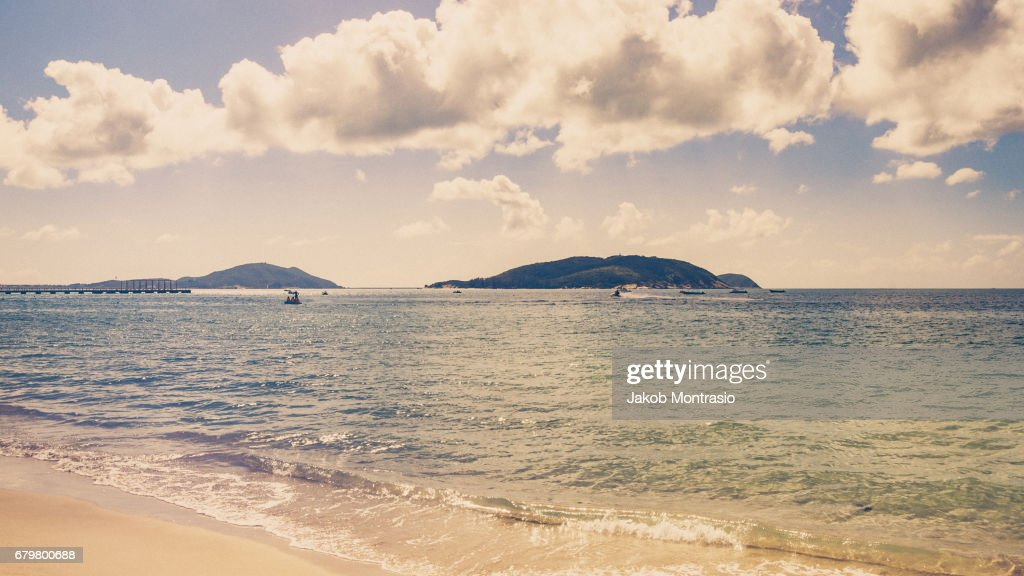 Sanya, the Hawaii of China : Stock Photo