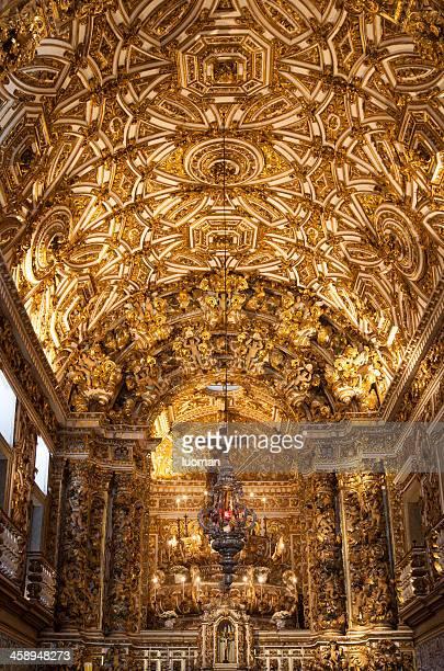 sao francisco church in salvador bahia - convent stock photos and pictures