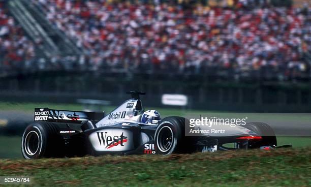 BRASILIEN 2001 Sao Paulo David COULTHARD/SCO McLAREN MERCEDES