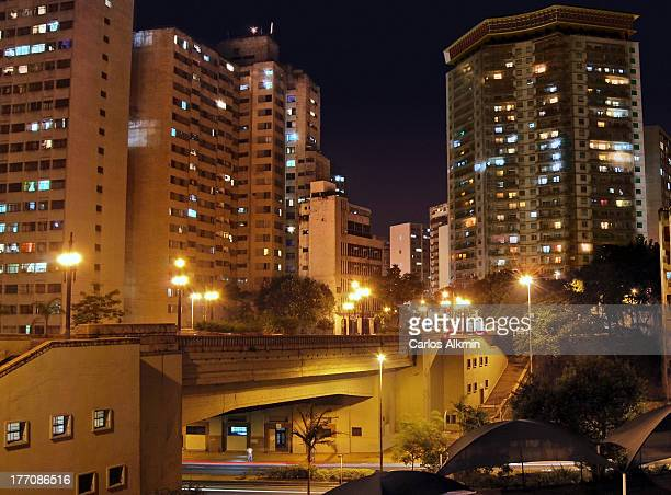 Sao Paulo Downtown - 9 de Julho Viaduct
