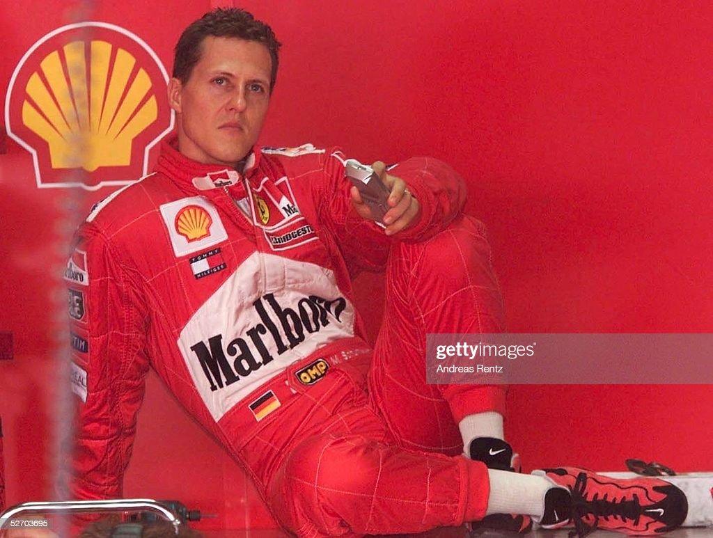 FORMEL 1: GP VON BRASILIEN 2001 : News Photo