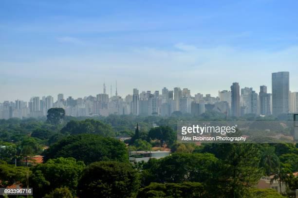 Sao Paulo skyline - Brazil's largest city
