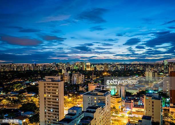 sao paulo skyline - américa latina - fotografias e filmes do acervo