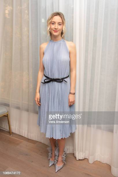 Saoirse Ronan at the 'Mary Queen of Scots' Press Conference at The London Hotel on November 18 2018 in West Hollywood California