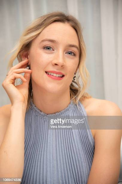 Saoirse Ronan at the Mary Queen of Scots Press Conference at The London Hotel on November 18 2018 in West Hollywood California