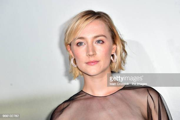 Saoirse Ronan attending a special screening of On Chesil Beach at the Curzon Mayfair London