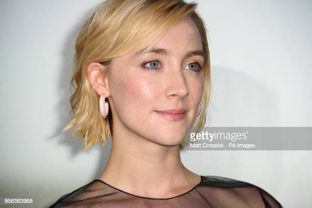 Saoirse Ronan attending a special screening of On Chesil Beach at the Curzon Mayfair London PRESS ASSOCIATION Photo Picture date Tuesday May 8th 2018...