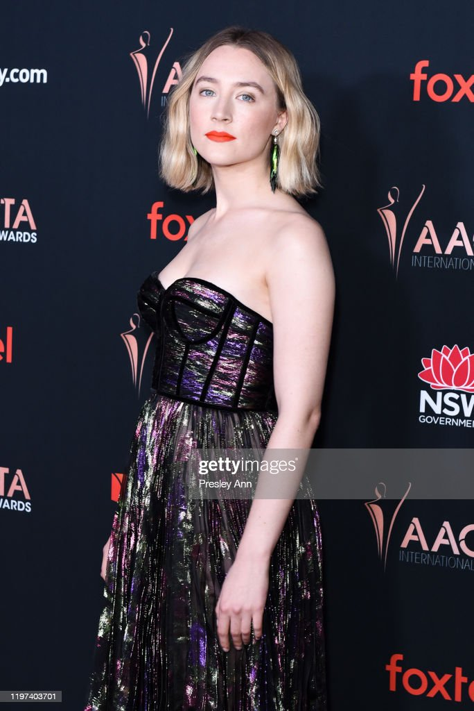 Saoirse Ronan Attends 9th Annual Australian Academy Of Cinema And News Photo Getty Images