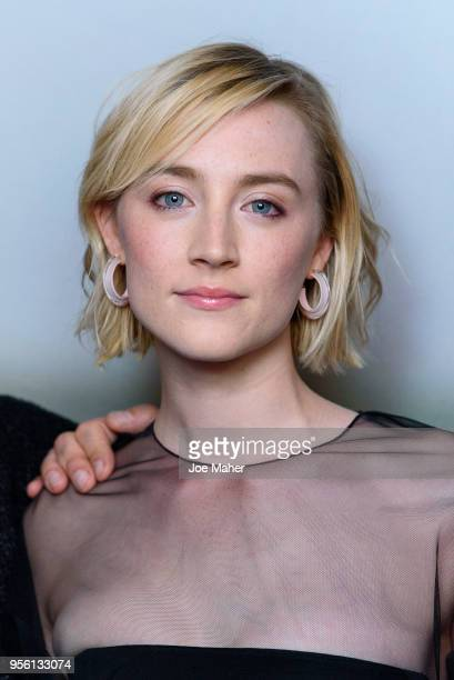 Saoirse Ronan attends a special screening of 'On Chesil Beach' at The Curzon Mayfair on May 8 2018 in London England