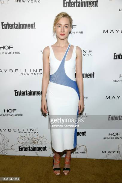 Saoirse Ronan attends Entertainment Weekly's Screen Actors Guild Award Nominees Celebration sponsored by Maybelline New York at Chateau Marmont on...