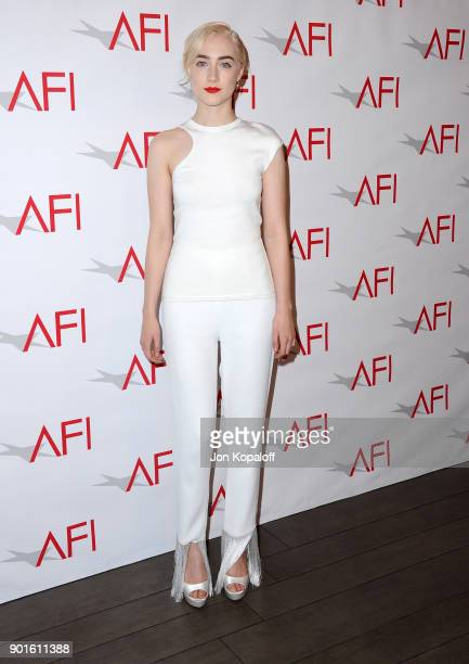 Saoirse Ronan attends the 18th Annual AFI Awards at Four Seasons Hotel Los Angeles at Beverly Hills on January 5 2018 in Los Angeles California