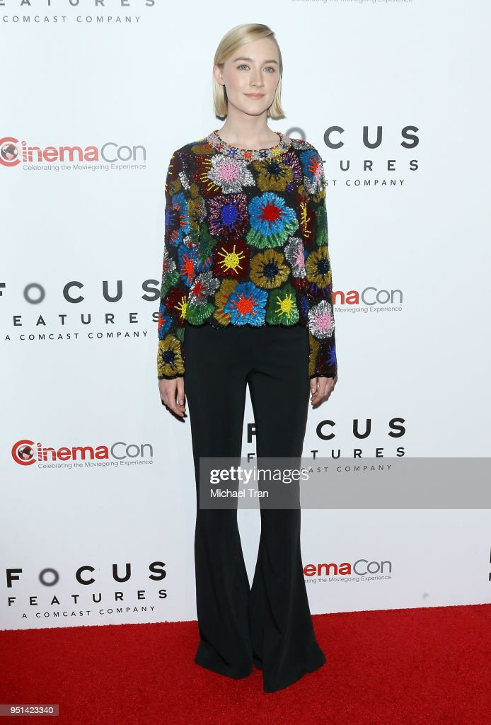2018 CinemaCon - Focus Features Luncheon And Special Studio Presentation : News Photo