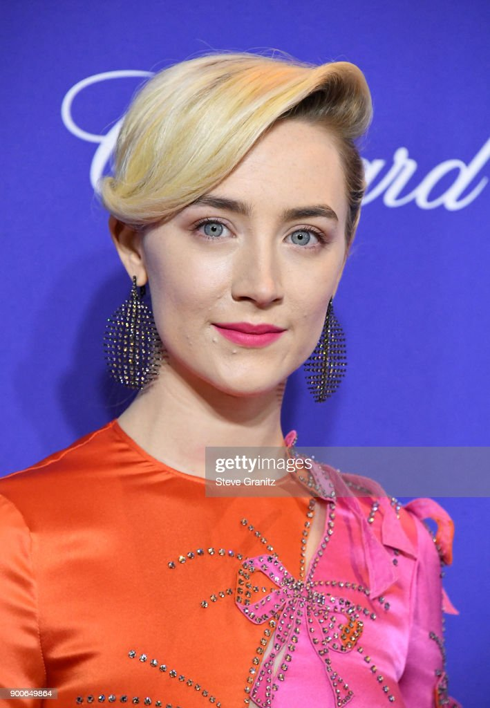 Saoirse Ronan attends the 29th Annual Palm Springs International Film Festival Awards Gala at Palm Springs Convention Center on January 2, 2018 in Palm Springs, California.