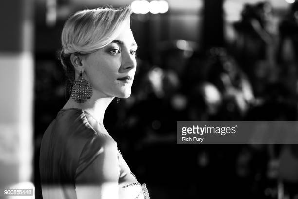 Saoirse Ronan attends the 29th Annual Palm Springs International Film Festival Awards Gala at Palm Springs Convention Center on January 2 2018 in...