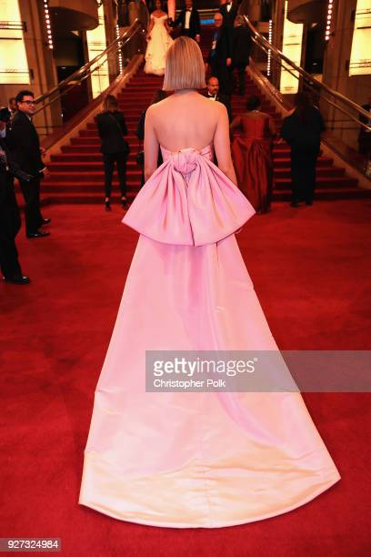 Saoirse Ronan attends the 90th Annual Academy Awards at Hollywood Highland Center on March 4 2018 in Hollywood California