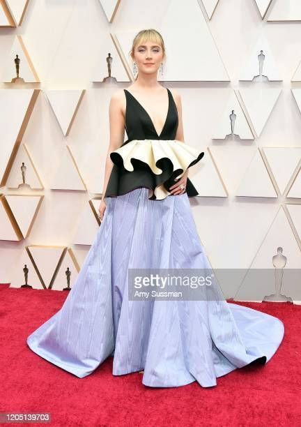 Saoirse Ronan attends the 92nd Annual Academy Awards at Hollywood and Highland on February 09 2020 in Hollywood California