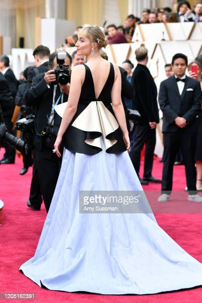 Saoirse Ronan attends the 92nd Annual Academy Awards at Hollywood and Highland on February 09, 2020 in Hollywood, California.