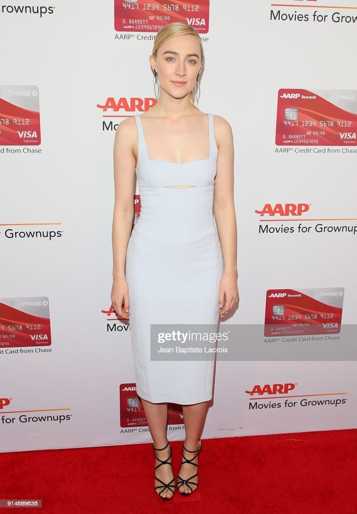 Saoirse Ronan attends the AARP's 17th Annual Movies For Grownups Awards on February 05, 2018 in Beverly Hills, California.