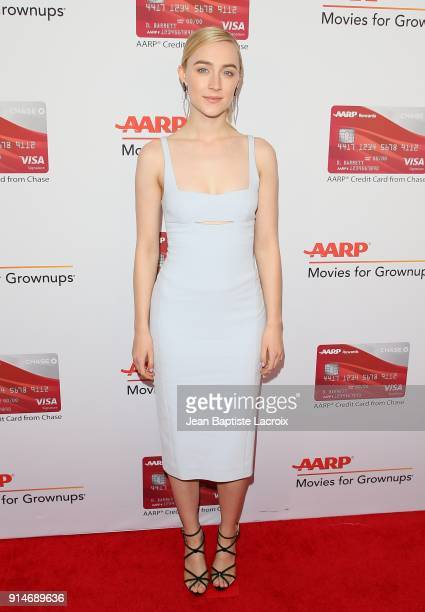 Saoirse Ronan attends the AARP's 17th Annual Movies For Grownups Awards on February 05 2018 in Beverly Hills California