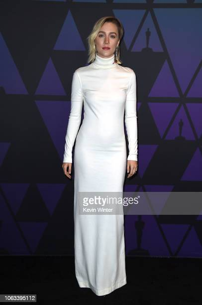 Saoirse Ronan attends the Academy of Motion Picture Arts and Sciences' 10th annual Governors Awards at The Ray Dolby Ballroom at Hollywood Highland...