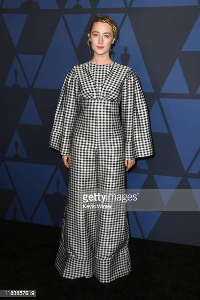 Saoirse Ronan attends the Academy Of Motion Picture Arts And Sciences' 11th Annual Governors Awards at The Ray Dolby Ballroom at Hollywood Highland...