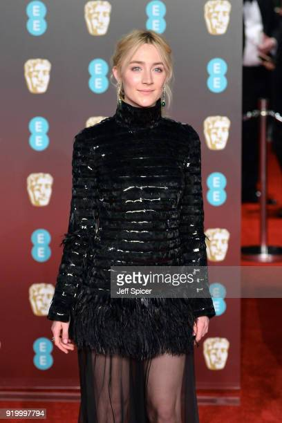 Saoirse Ronan attends the EE British Academy Film Awards held at Royal Albert Hall on February 18 2018 in London England