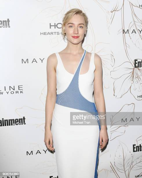 Saoirse Ronan attends the Entertainment Weekly hosts celebration honoring nominees for The Screen Actors Guild Awards held on January 20 2018 in Los...
