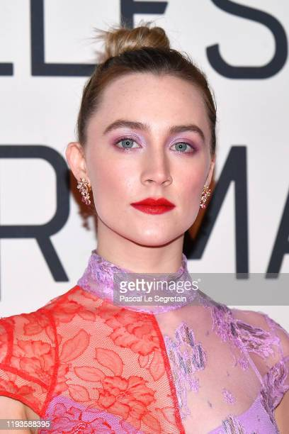 Saoirse Ronan attends the Little Women Premiere on December 12 2019 in Paris France