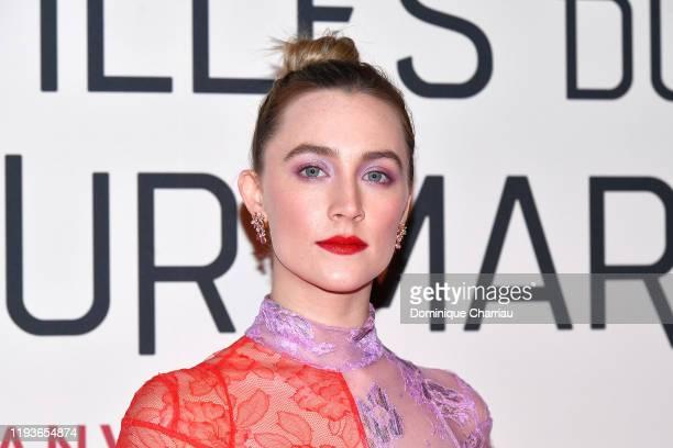 Saoirse Ronan attends the Little Women Premiere on December 12 2019 in Paris France