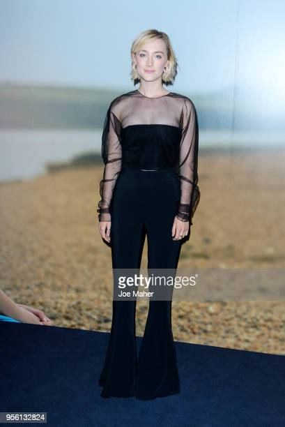 Saoirse Ronan attneds a special screening of 'On Chesil Beach' at The Curzon Mayfair on May 8 2018 in London England