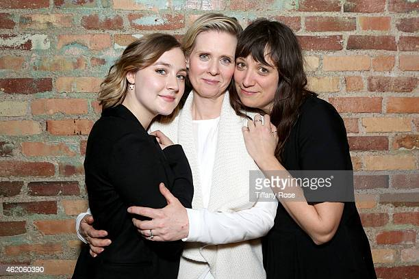 Saoirse Ronan, Cynthia Nixon and Nikole Beckwith attend ChefDance 2015 Presented By Victory Ranch And Sponsored By Merrill Lynch, Freixenet, Anchor...