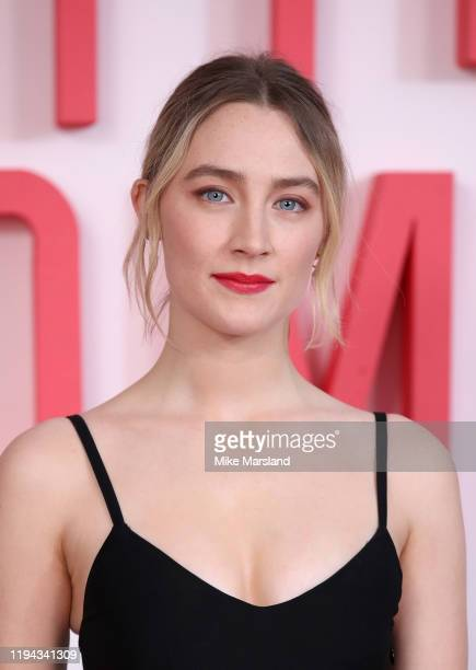 Saoirse Ronan during the Little Women photocall at Soho Hotel on December 16 2019 in London England