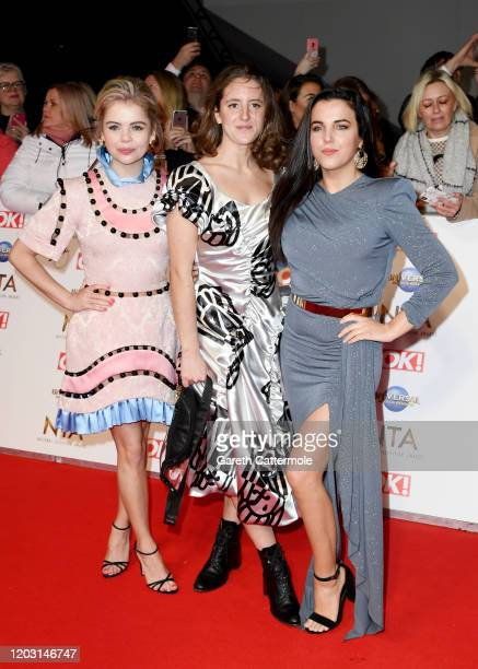 SaoirseMonica Jackson Louisa Harland and JamieLee O'Donnell attend the National Television Awards 2020 at The O2 Arena on January 28 2020 in London...