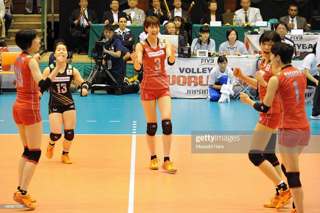 Japan v Peru - FIVB Women's Volleyball World Cup Japan 2015 : News Photo