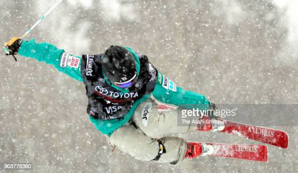 Saori Suzuki of Japan competes in the Freestyle Ladies' Halfpipe qualification during day one of the Snowmass Grand Prix on January 10 2018 in...