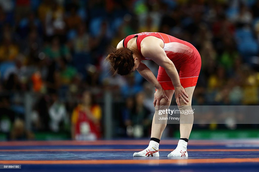 Wrestling - Olympics: Day 13
