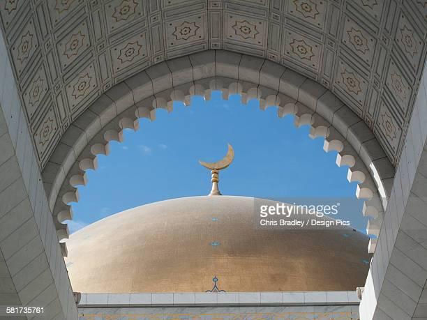 saparmurat niyazov (turkmenbashi) mosque, near ashgabat - ashgabat stock pictures, royalty-free photos & images