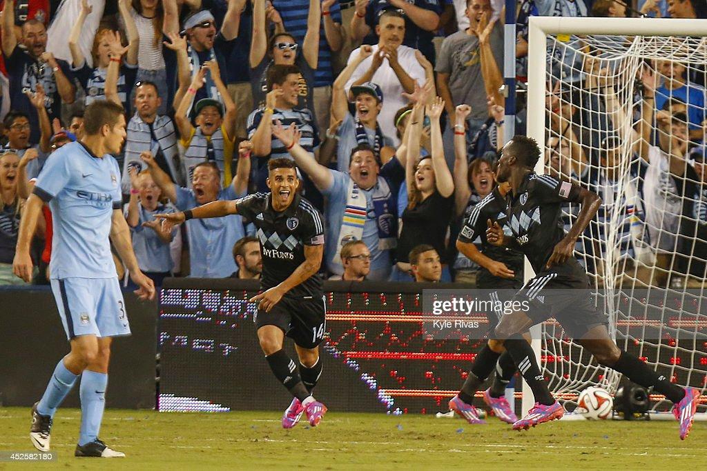 Manchester City v Sporting Kansas City