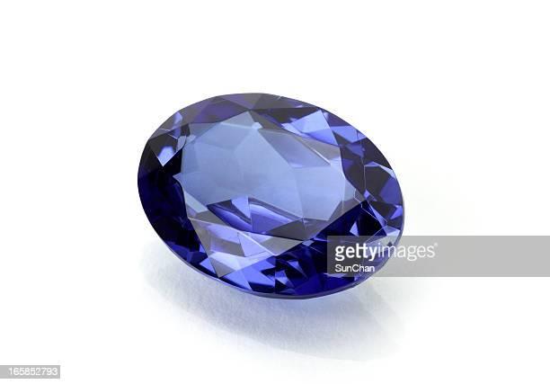 Sapphire or Tanzanite