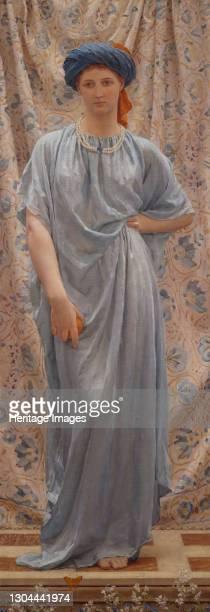 Sapphires, 1877. Artist Albert Joseph Moore.