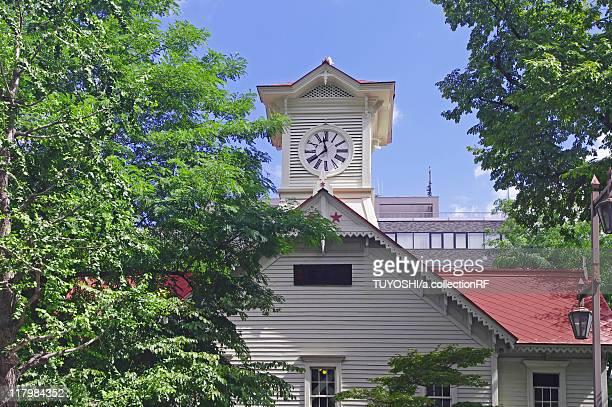 sapporo clock tower - sapporo - fotografias e filmes do acervo