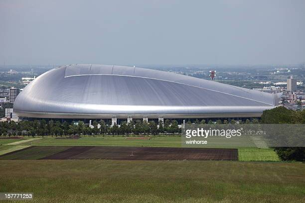 sapporo dome, japan - sapporo stock pictures, royalty-free photos & images