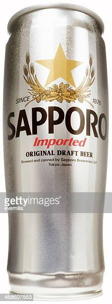 sapporo draft lager - sapporo stock pictures, royalty-free photos & images