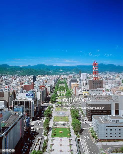 Sapporo Odori Park,  Sapporo,  Hokkaido,  Japan